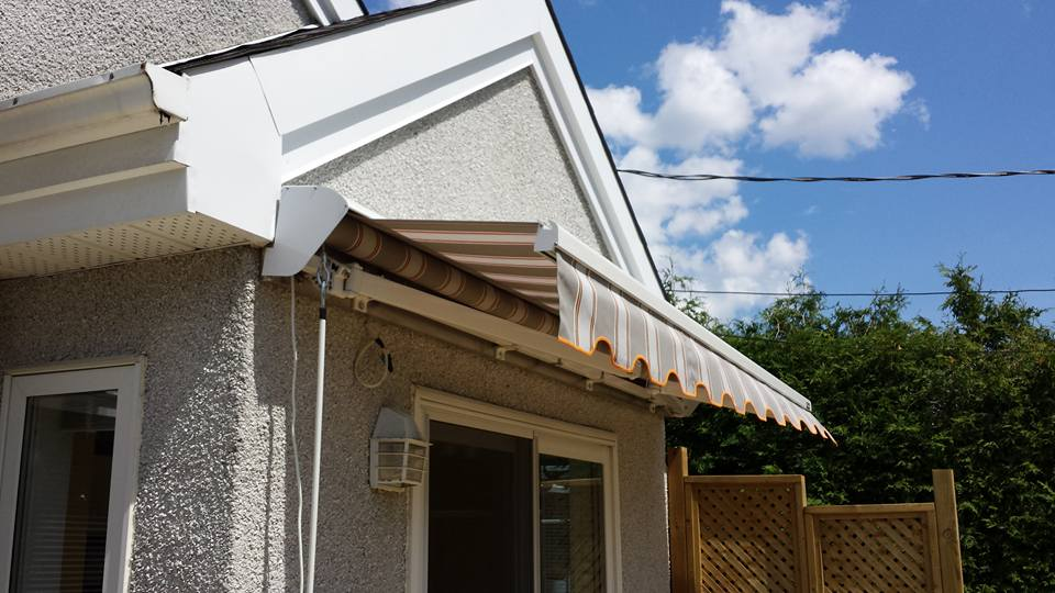 retractable awnings, Auvent royal