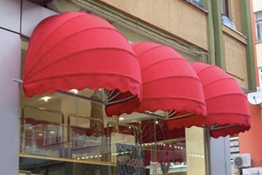Awnings curtains fabrics by Auvent Royal